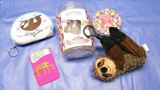 Suzie the Sloth, Scentsy Mango Buddy Clip & other accessories, coin purse & more