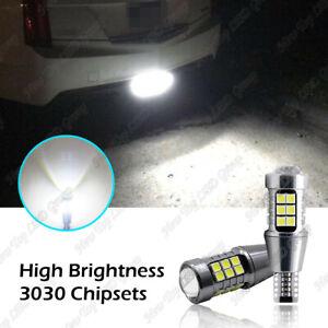 White LED Bulbs Backup Reverse Light for Cadillac ATS/XTS 13-2019 CTS 2014-2019