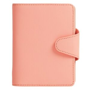 Kikki K 2020 Coral Textured Leather Planner Small - She Shines