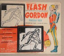 FLASH GORDON SLIDE PUZZLE by ROALEX - 1950s