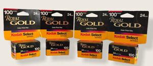 Kodak Select Series Royal Gold Color Print Film 35mm 100 Speed 24 Exposure 10/01
