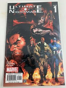 Ultimate Nightmare #1 (2004) NM-, Captain America, Black Widow, Wolverine, Fury