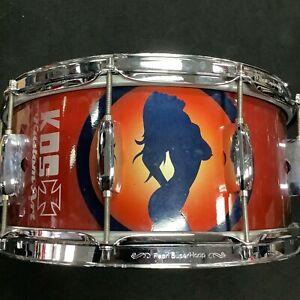 "TAMA 90's Japan Birch Snare 14x6"" KDS design Custom Paint - LOUD - FREE POST"