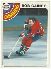 1978-79 OPC HOCKEY #76 BOB GAINEY - EXCELLENT-