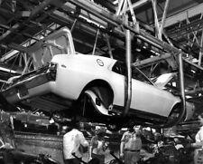 1969 AMC AMX 390, Factory Assembly line, Refrigerator Magnet, 40 MIL