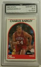 1989 Hoops Basketball #110- Charles Barkley FGS GEM MINT 10