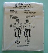 Wingeo Pattern #308 Bloomers & Gaiters (Leggings)  One Size Fits All.  New!