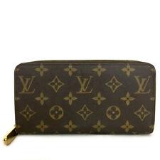 Louis Vuitton Monogram Zippy Zip Around Long Wallet purse /A0414