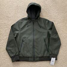 UGG Diego Rubberized Olive Hoodie Jacket Coat (1093610) MSRP $225 Men's Size L