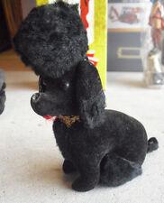 """Vintage 1950s Kamar Japan Poodle Stuffed Animal 7"""" Tall"""
