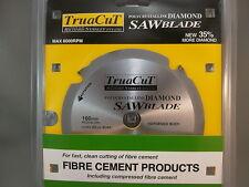 FIBRE CEMENT DiamondSAW BLADE-Cuts Hardie Prods-160mm