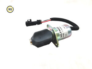 Shutdown Device, Solenoid For Yanmar, Cummins 3919422, 2-1/2, 5.9L, 8.3, 12 Volt