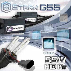 Stark 55W Micro HID Head Light Slim Xenon Kit - 9006 HB4 6K 6000K Ice White (C)