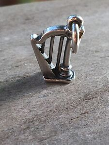 James Avery Retired Harp Charm