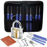 Unlocking Practice Train Key Extractor Transparent Padlock Tool BRP3