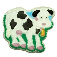Cow Pantastic Cake Pan oven safe at 375 from CK #9023 - NEW