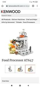 Kenwood chef Major Food Processor Attachment AT647
