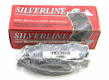 SET OF 4  NEW UBP SILVERLINE  MD360  FRONT  SEMI-METALLIC  PREMIUM  BRAKE PADS