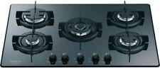 Hotpoint Ariston Piano cottura 5 Fuochi incasso a gas 75 cm Cristallo DD752P(MR)
