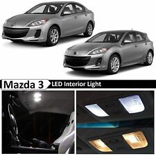 2015-2016 Mazda 3 Sedan Hatchback Interior White LED Light Package Kit + TOOL