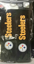 NFL STEELERS THEMED CUSHIONED SEAT BELT SHOULDER PADS FOR CAR OR TRUCK~NEW~