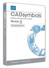 TurboCad Cadsymbols Version 8          PC          !!!!!!! NEU+OVP !!!!!!!
