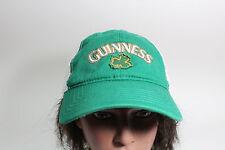 Guinness Beer Green & White Baseball Cap Hat