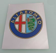 Sticker panini Alfa Romeo grand modèle