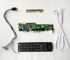 TV PC HDMI CVBS RF USB AUDIO LCD screen Controller Board B101AW03 V.0 1024*600