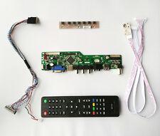 TV PC HDMI CVBS RF USB AUDIO LCD screen Controller Board B101AW03 V.0 1024*600