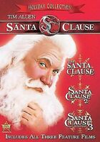 Santa Clause 1 2 3 Holiday Collection Trilogy, Tim Allen (DVD,3-Disc) New/Sealed