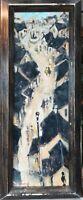 tableau huile sur toile -Pont Aven - signé Ménard