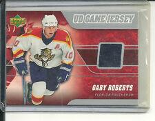 GARY ROBERTS JERSEY 06-07 UPPER DECK