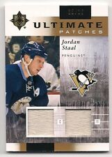 b67fe5a3d6e Jordan Staal 11-12 Upper Deck Ultimate Patches Dual Game Used Jersey Patch  /35