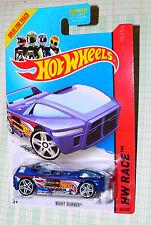 2014 Hot Wheels Night Burner #147/250  HW Race  gfl2   hunt