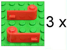 LEGO - 6 x Autotür Tür 1x3x1 rot ( 3 Paare ) / Autotüren / 3821 3822 NEUWARE