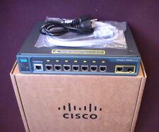 Cisco Catalyst WS-C2960G-8TC-L Gigabit Ethernet Switch 2960G 3-YR Warranty 4 ALL