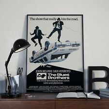 The Blues Brothers Belushi & Akroyd Movie Film Poster Print Picture A3 A4