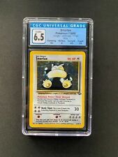 Snorlax 11/64 Holo CGC 6.5 -  1999 Pokemon Jungle Set (PSA-BGS)