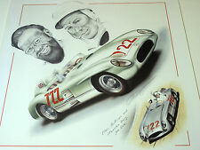 Stirling MOSS Denis Jenkinson MILLE MIGLIA 1955 MERCEDES 300slr 722