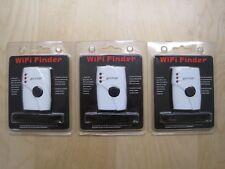 Lot of 3 WiFi Finder Hotspots Wireless Network Detector