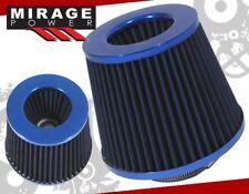 BLUE 3'' INCH INLET HIGH FLOW SHORT RAM/COLD INTAKE FILTER FOR G35/350Z/G37/370Z