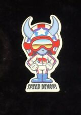 1 speed demon skateboard Stickers Stars & Stripes 1997 World Industries