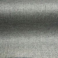 P/K Lifestyles Mykonos Char Diamond Jacquard Upholstery Fabric By The Yard