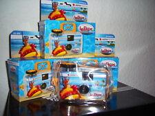 5 x AGFA Unterwasserkamera Einwegkameras CAM 135 Bilder NEU !!! OVP 0,-? Versand