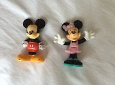 Minnie Mouse And Mickey Mouse Toy Figures