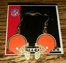 Peter David Collectible Nfl Football Cleveland Browns Team Logo Earrings New