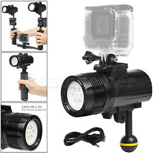 Underwater 15000LM LED Diving Torch Tauchlampe Flashlight Für GoPro Hero 6 5 4 3