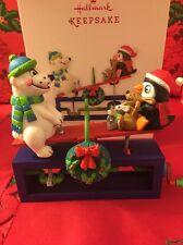 Up For Fun Moving Christmas Tree Hallmark Keepsake Ornament New In Box