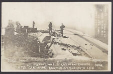 Postcard Royal Navy All That Was Left of the Canteen of HMS Gladiator Cribb RPPC